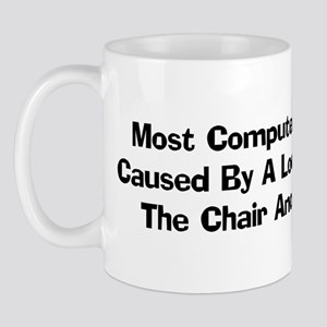 Loose Nut At Keyboard Mug